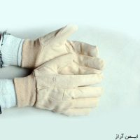 دستکش کتان مچ کشدار