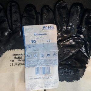 دستکش شرکت نفتی ansell