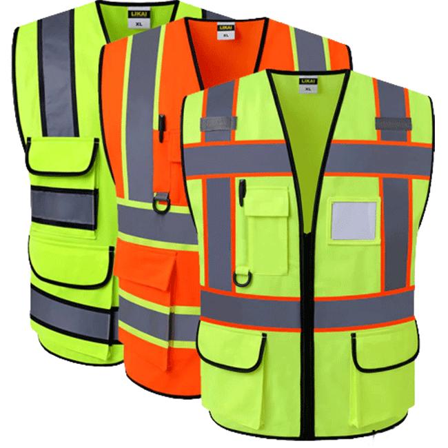 تجهیزات ایمنی لباس کار